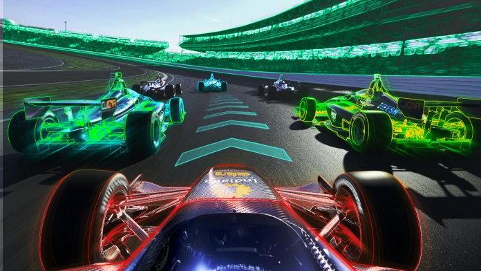 Open-cockpit Indy-style autonomous race cars for virtual challenge