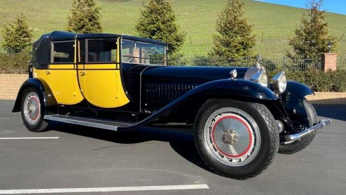 'The Berline de Voyage' is one of six surviving Bugatti Royale   Rick Cole photo