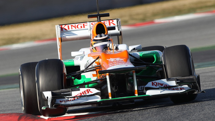 Nico Hulkenberg - Photo courtesy Sahara Force India Formula 1 Team