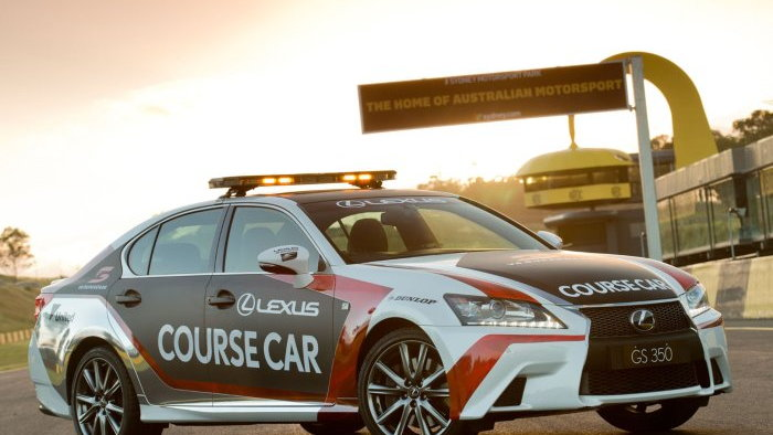 Lexus GS 350 F Sport chosen as V8 Supercars course car