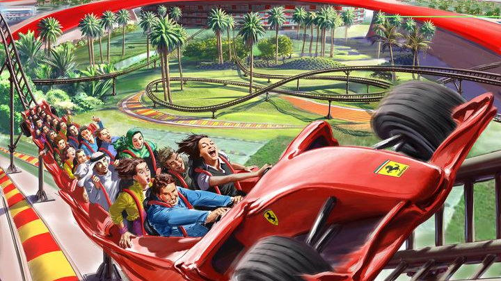 Ferrari World Abu Dhabi attractions