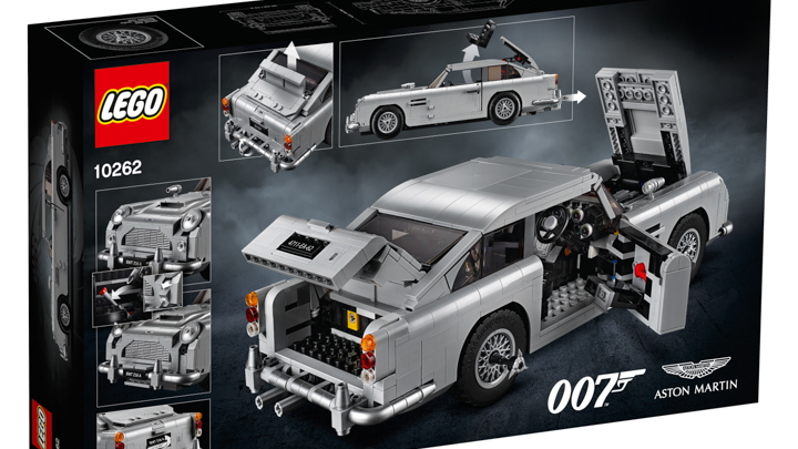 Live Your James Bond Fantasies In Small Scale With This Lego Db5