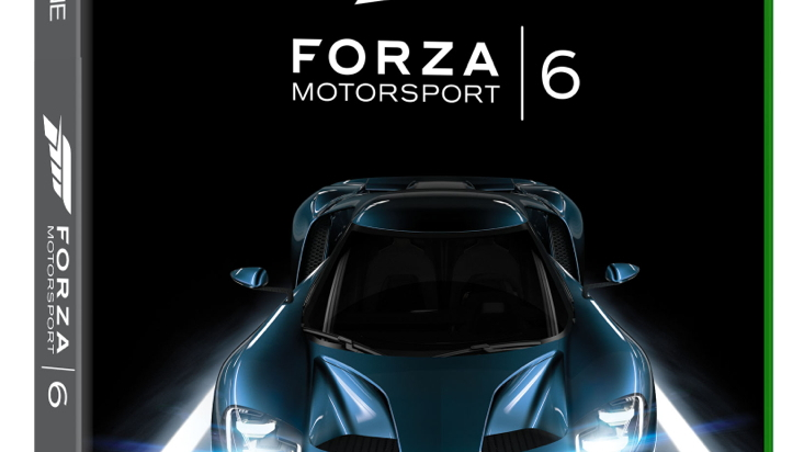 Ford GT on the cover of 'Forza Motorsport 6'