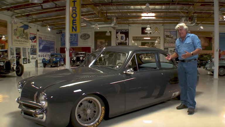 Jay Leno samples a sublimely modified 1951 Ford Coupe