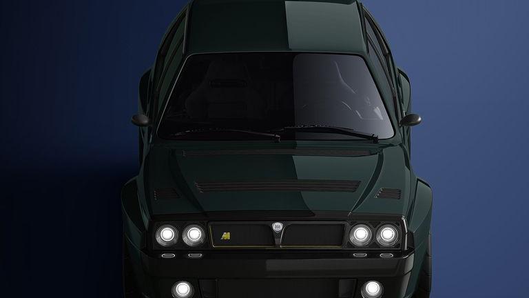 Automobili Amos Lancia Delta Integrale restomod