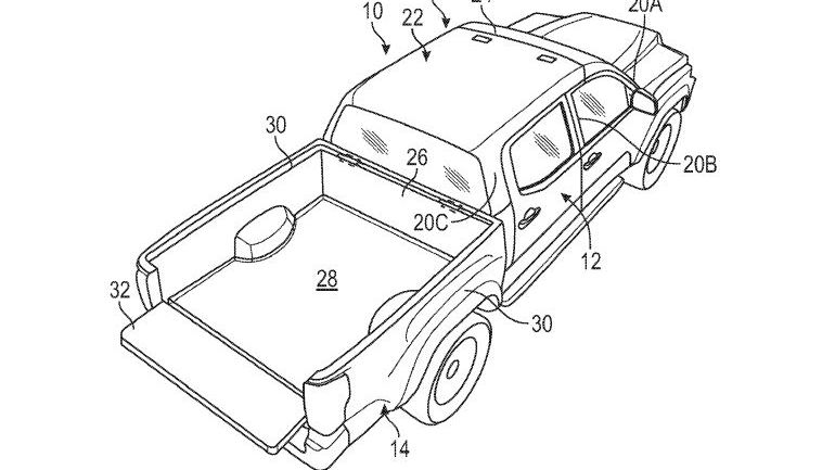 Ford truck convertible patent