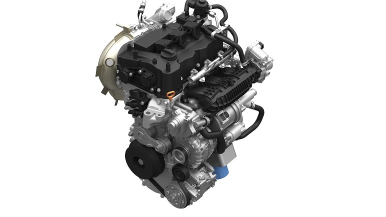Honda direct-injected and turbocharged 1.0-liter three-cylinder VTEC engine