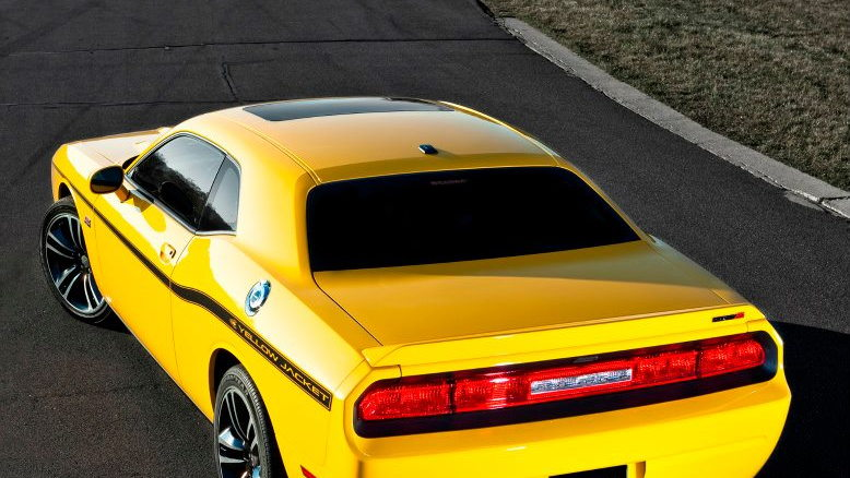 2012 Dodge Challenger Yellow Jacket Leaked Ahead Of L A Auto Show