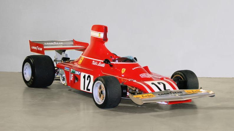 Niki Lauda's 1974 Ferrari 312 B3 F1 car