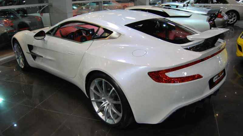 Aston Martin One-77 up for sale