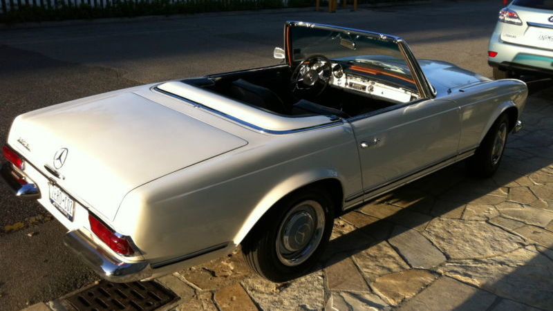 1965 Mercedes-Benz SL electric car conversion [Images: eBay listing]