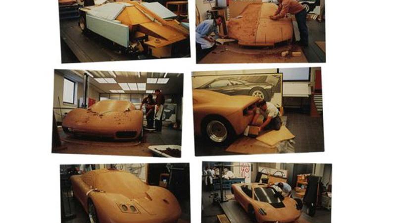 McLaren F1 clay model