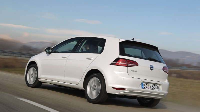 Volkswagen e-Golf electric car leaked images