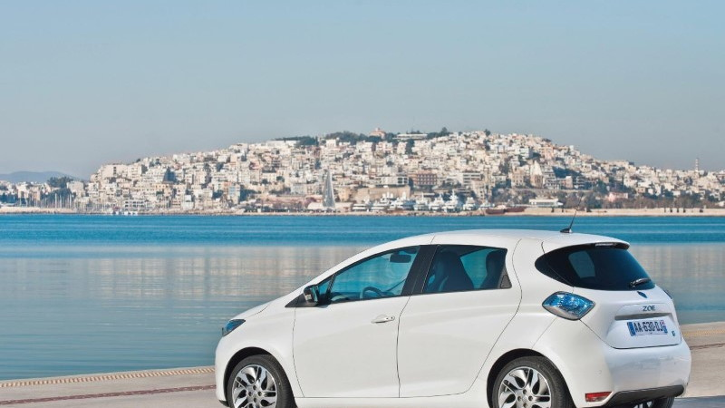 2013 Renault Zoe electric car