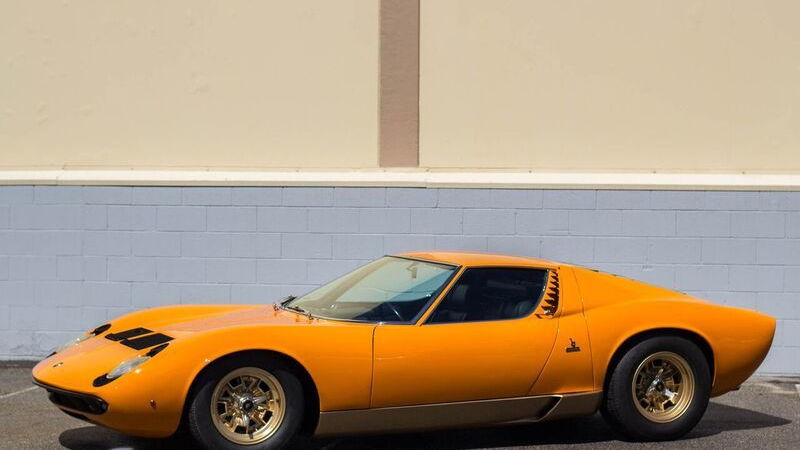 1970 Lamborghini Miura P400S