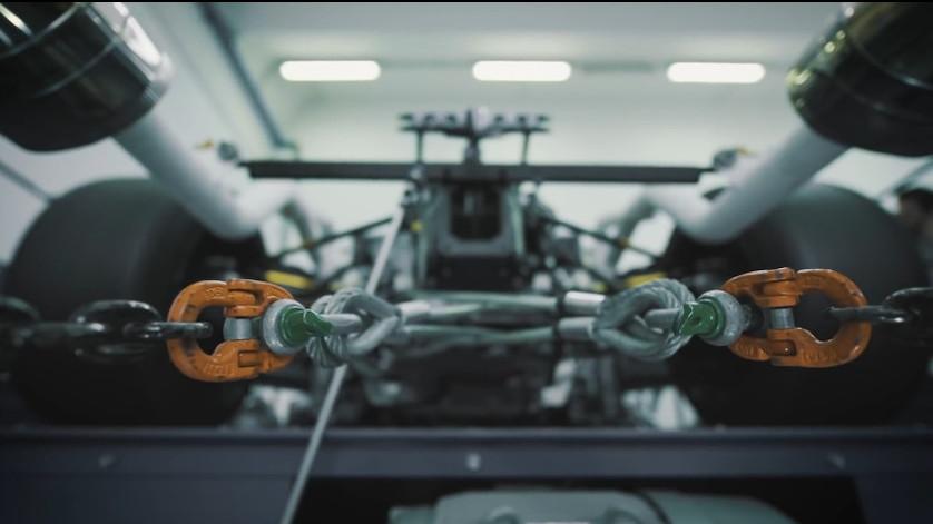 Teaser for Lamborghini Aventador track car debuting in 2020