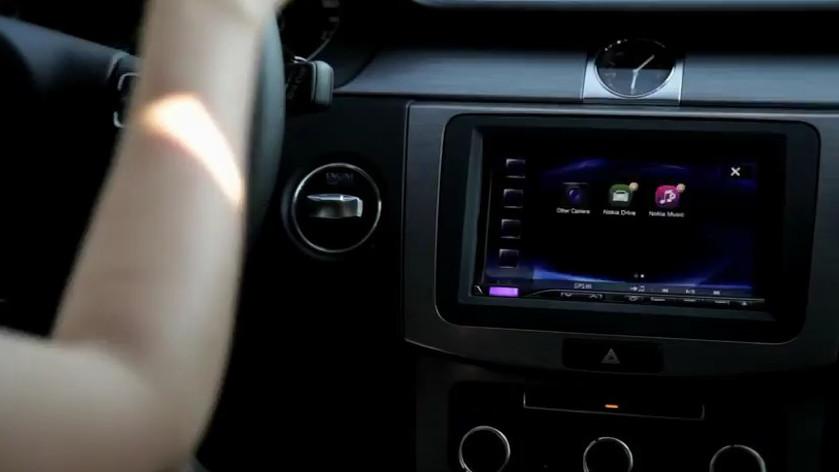 Nokia Car Mode, using MirrorLink
