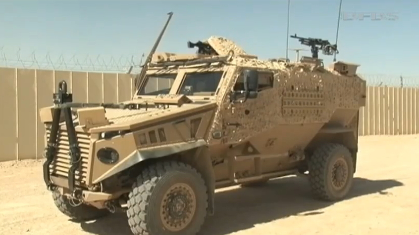 Force Protection Europe's Foxhound