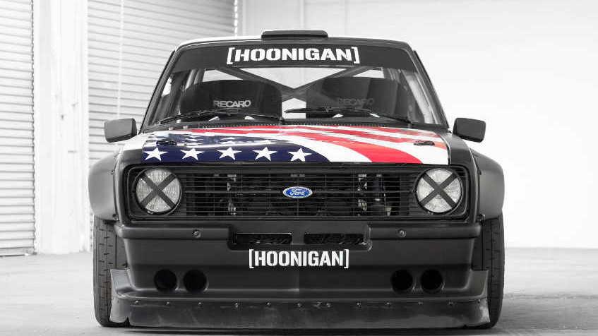 Hoonigan Ken Block Gymkhana Ford Escort