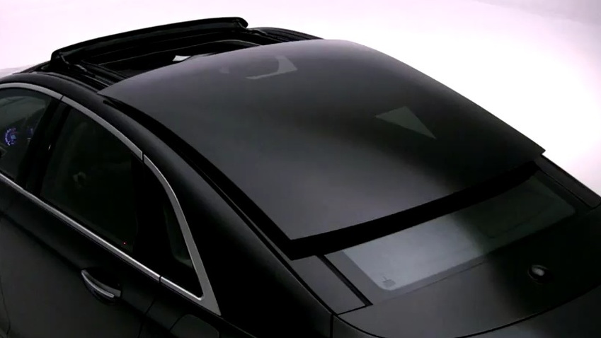 2013 Lincoln MKZ retractable glass roof