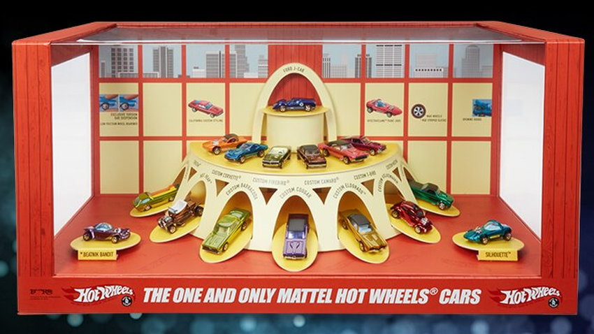 Hot Wheels 50th Anniversary