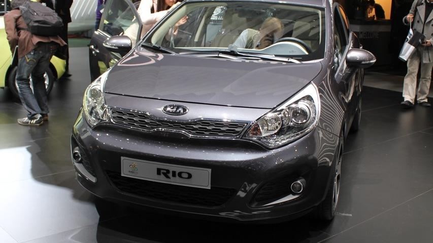 2012 Kia Rio Hatchback live photos