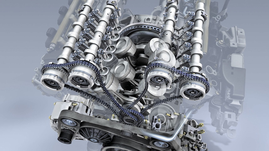 Mercedes-Benz's next-generation V-6 and V-8 engines
