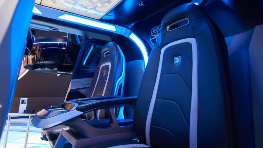 Bell Nexus VTOL hybrid air taxi  -  CES 2019