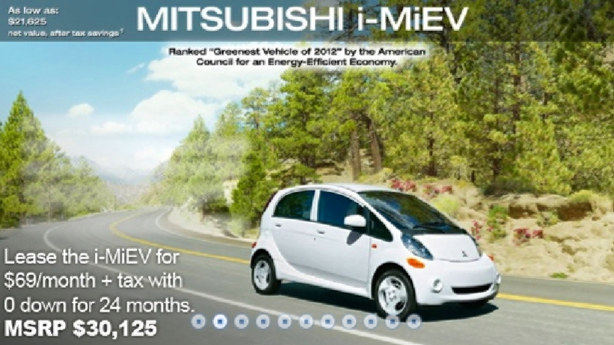 Cheapest Car To Lease >> Mitsubishi I In Cheapest Electric Car Lease Yet 69 Per Month
