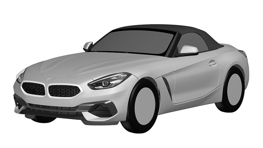 BMW Z4 Patent Drawings