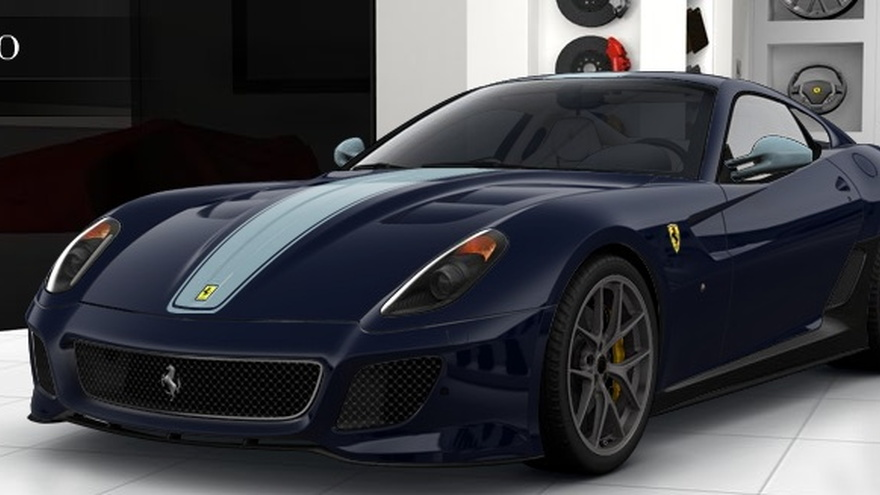 Ferrari 599 GTO custom configuration