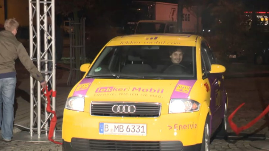 DBM Energy Audi A2 Electric Car