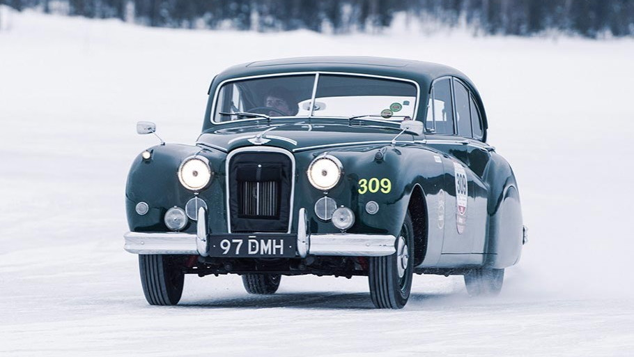 Jaguar-Land Rover Classic Ice Drives