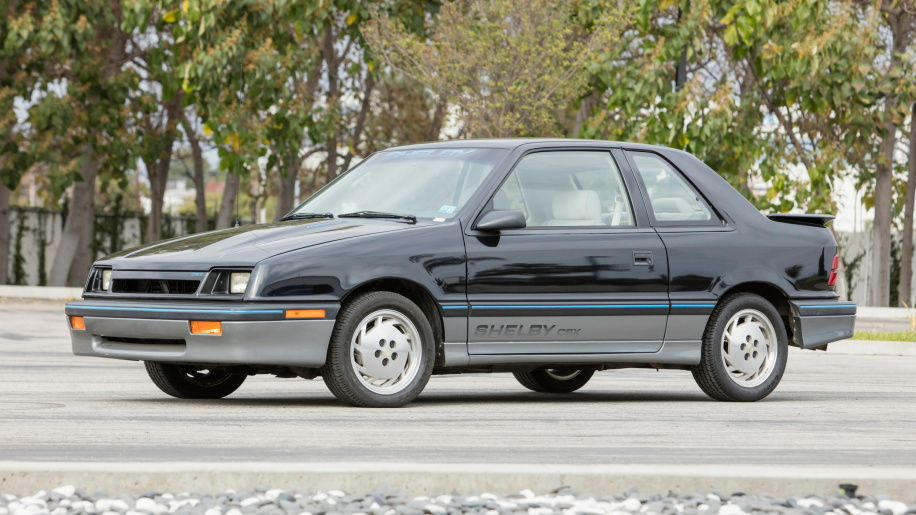 1987 Dodge CSX Serial #1, part of Carroll Shelby car collection