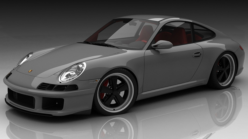 Custom Concepts retro 911 kit, designed by Bo Zoland. Image: Zoland Design