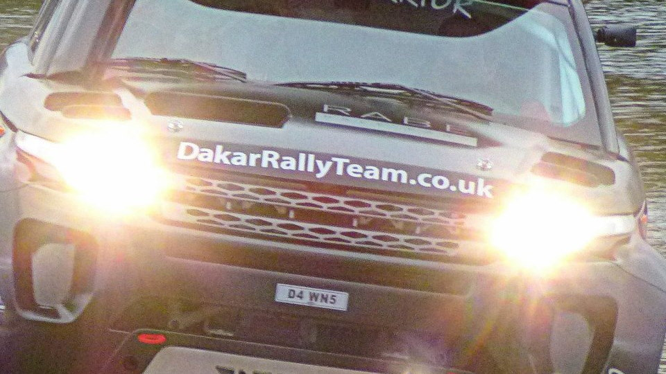 The RaBe Desert Warrior, campaigned by Britain's Excite Rallye Raid Team