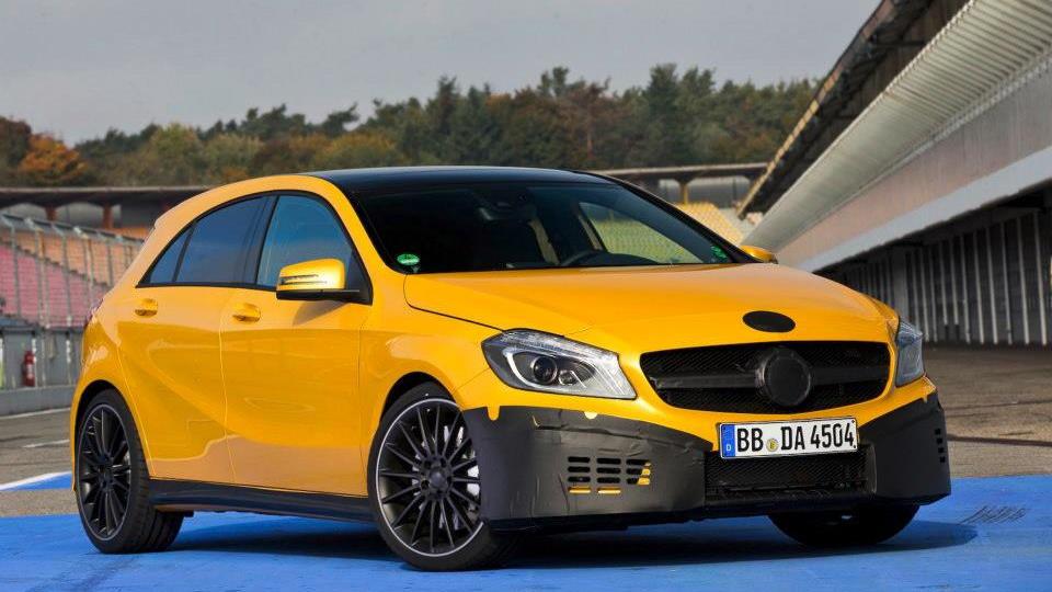 2013 Mercedes-Benz A 45 AMG teaser images