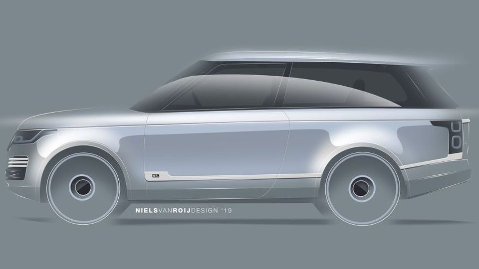 Land Rover Range Rover Adventum coupe by Niels van Roij design