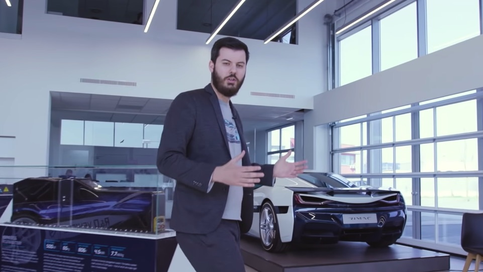 Mate Rimac, CEO and founder of Rimac