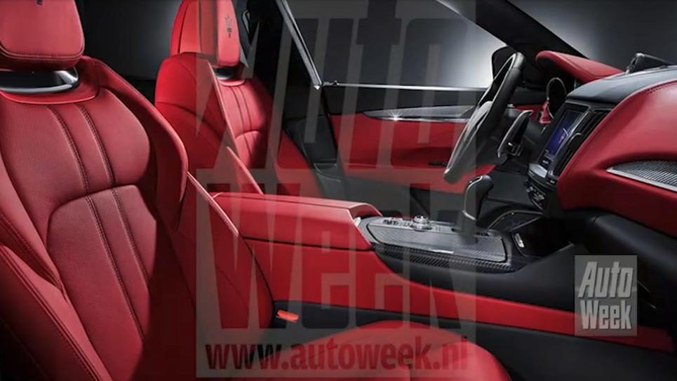 2017 Maserati Levante Leaked - Image Via Autoweek.nl