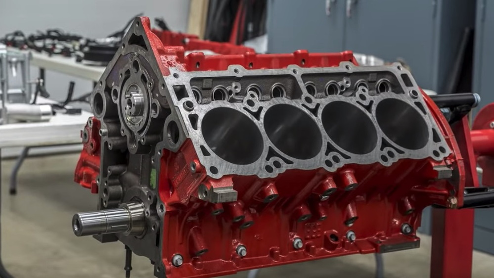 Dodge Demon engine assembly timelapse