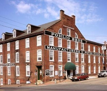 Image of pohlig box factory in richmond va