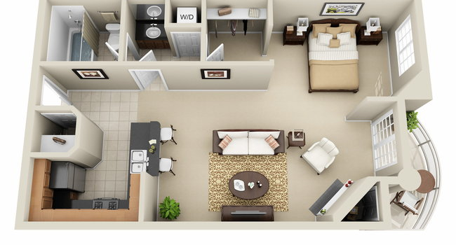Image Of The Preston Miracle Mile Apartments In Los Angeles Ca