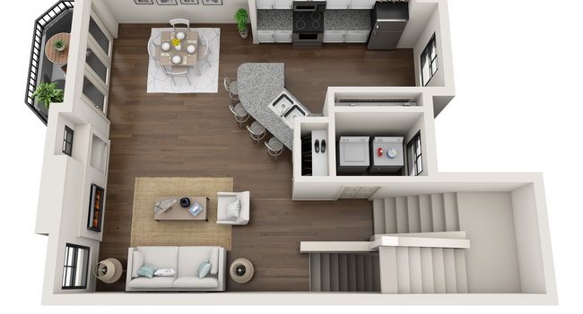 Image Of The Brownstone Apartments In Dallas Tx