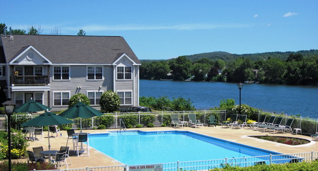 Pool Overlooking the Hudson River