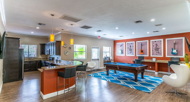 Clubhouse at The Avenues of Baldwin Park in Orlando, FL