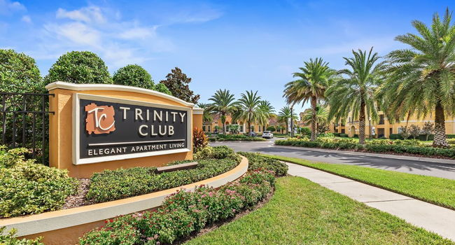 Trinity Club Sign