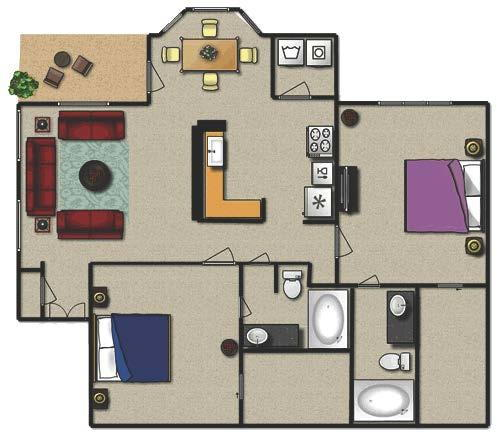 Apartment Ratings Com: The Inverness Apartments - 148 Reviews