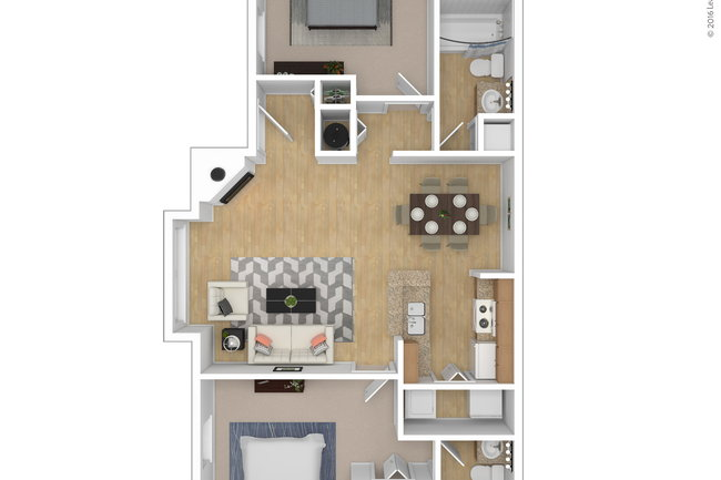 Floor Plan Photo Of The Forest At Chasewood Apartments In Charlotte Nc